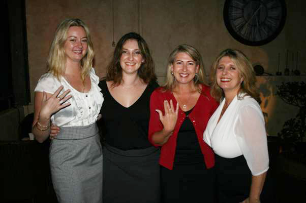 Tina Killeen, Louise Brown, Lisa Allan and Penny Spencer