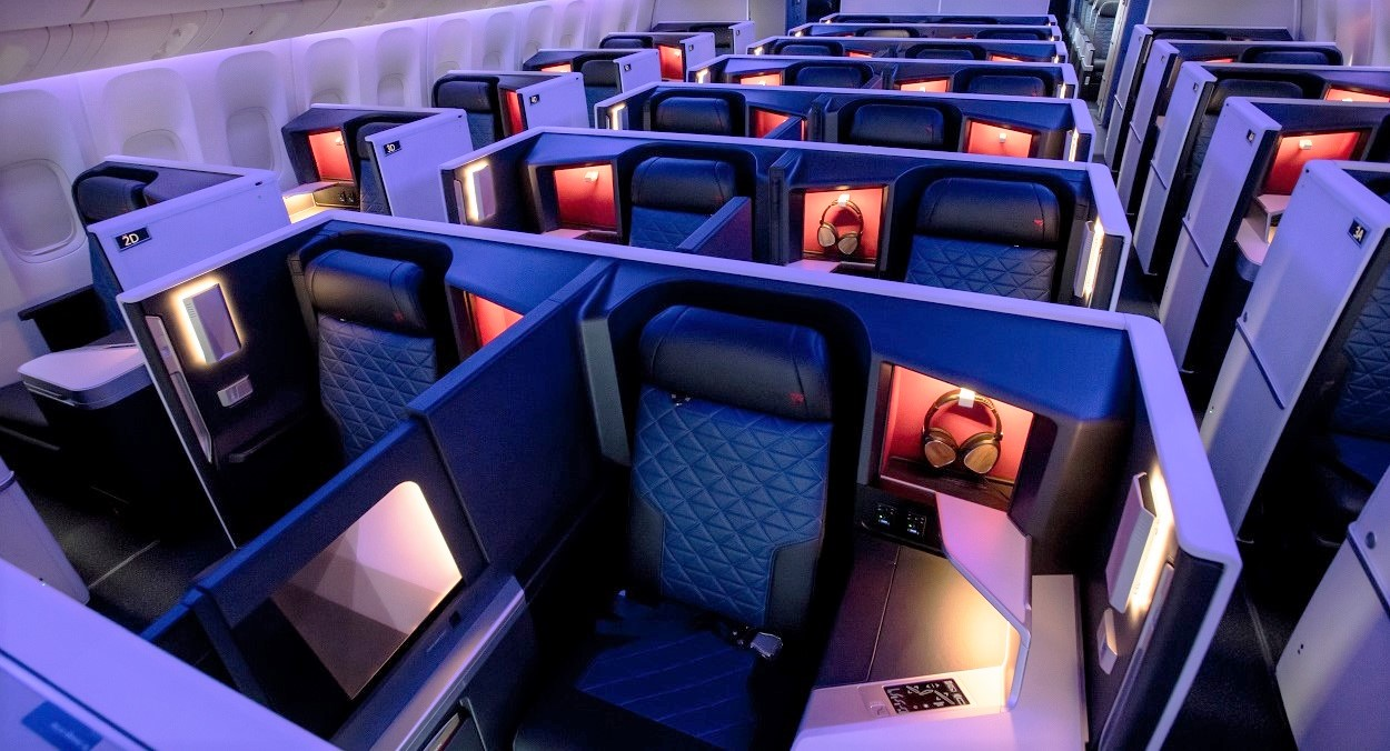 FIVE MORE TRANS-PAC ROUTES TO FEATURE DELTA ONE SUITES AND DELTA